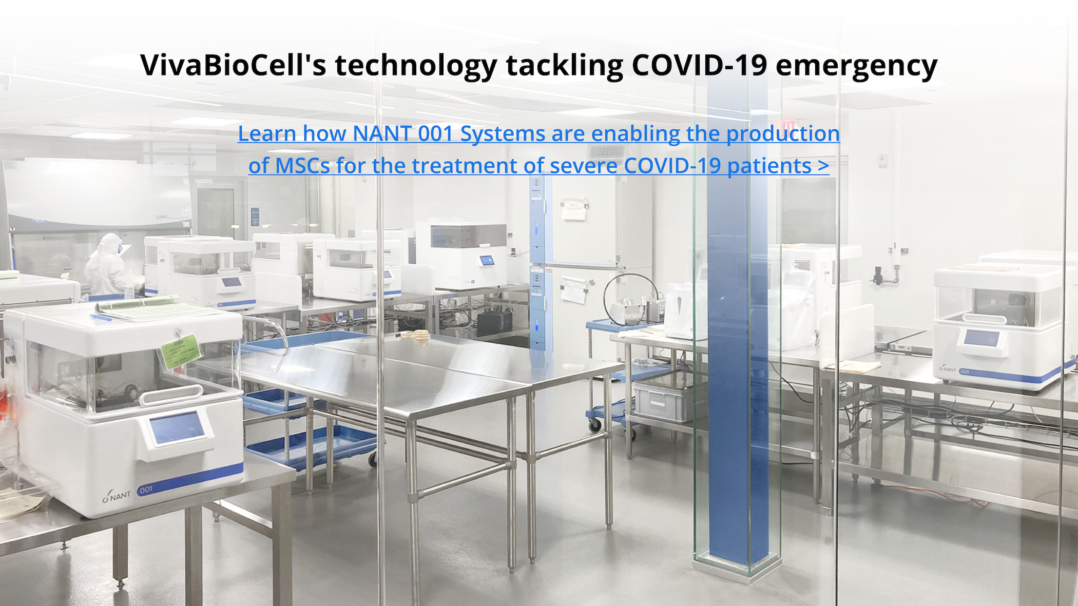 Scaling-up the production of BM.allo-MSC with NANT 001 System to treat severe COVID-19 patients